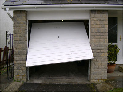 roller shutter door no light on how to fix